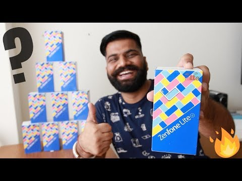 Asus Zenfone Lite L1 Unboxing & First Look + GIVEAWAY 🔥🔥🔥