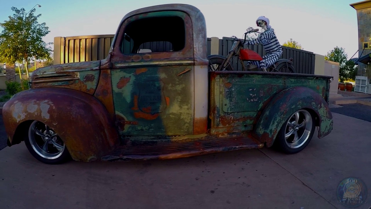 Rat Rod Ford Truck - YouTube
