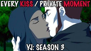 All Kissing Scenes & Private Moments in Young Justice Season 3