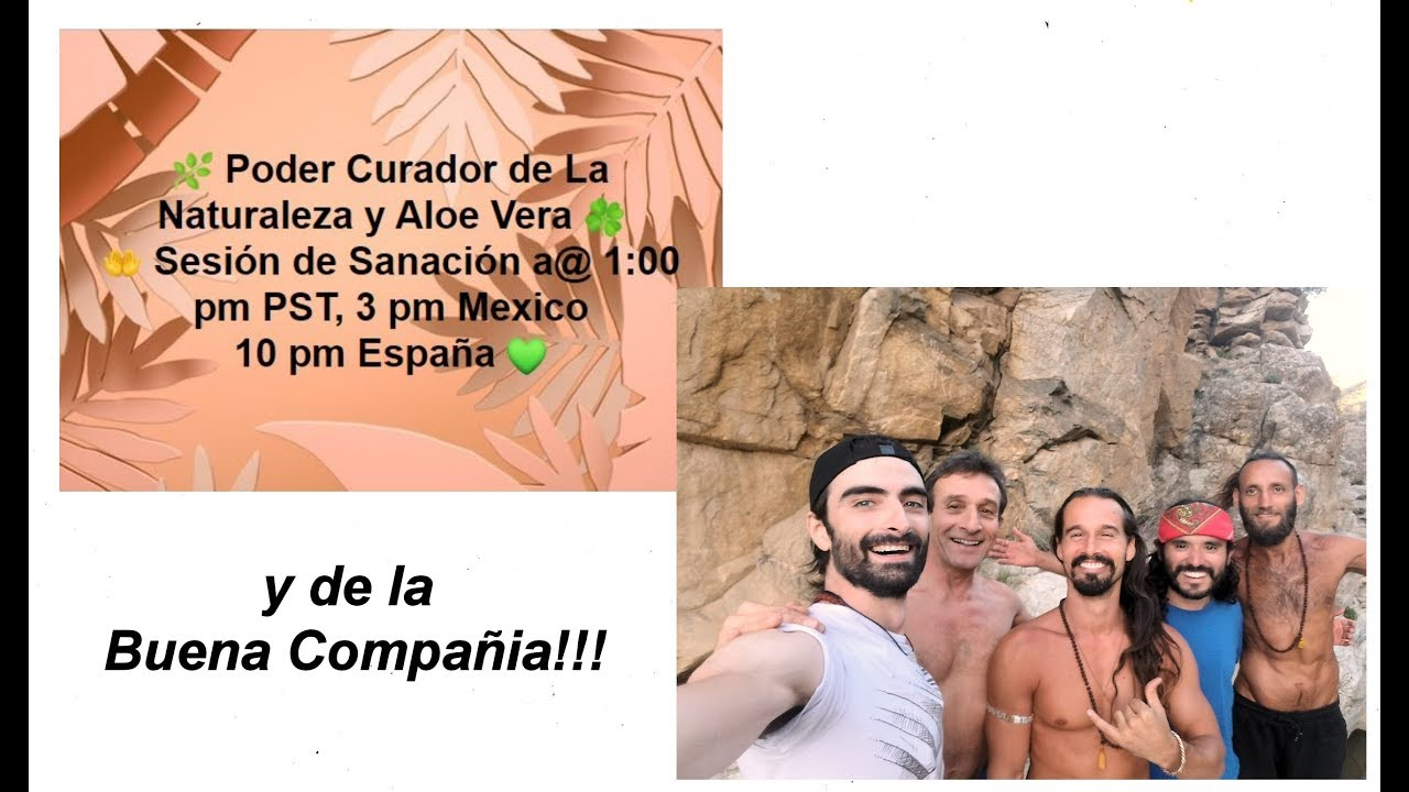 🌿 Poder Curador de La Naturaleza y Aloe Vera 🍀 🤲 Sesión de Sanación a@ 1 pm PST, 3 pm Mexico,