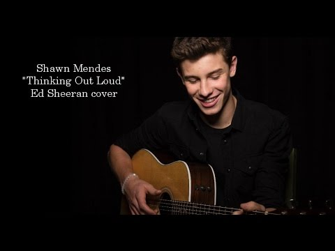 Shawn Mendes - Thinking Out Loud (Lyrics)