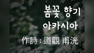 [도관보광]스님의 시한편 -봄꽃 향기 아카시아