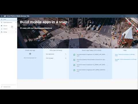 SAP Cloud Platform Mobile Service - How to quickly create a mobile application on S/4HANA Data