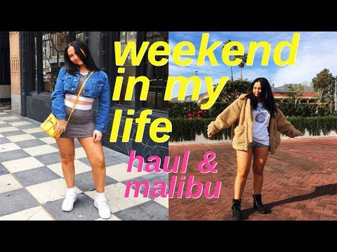 Weekend In My Life   Car Haul And Day Trip To Malibu