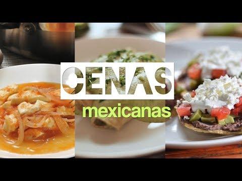 Cenas para bajar de peso recetas mexicanas