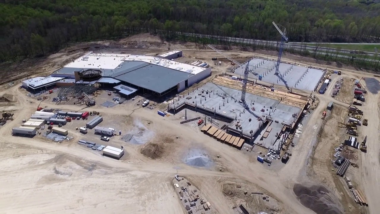 Four Winds Casino South Bend Construction Update Youtube