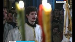 У православных - Страстная пятница(У православных верующих всего мира сегодня самый строгий день - Страстная пятница. Они вспоминают о страдан..., 2014-04-18T08:12:52.000Z)