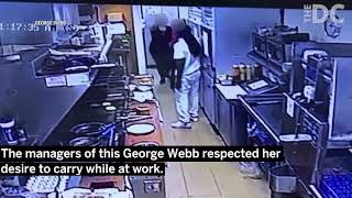 Concealed Carry Employee Defuses The Situation At A Milwaukee George Webb