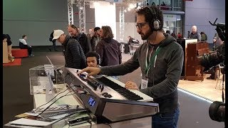 Kurzweil PC4 at Musikmesse 2019 - First Steps with Giacomo Dalla (NO TALK!)
