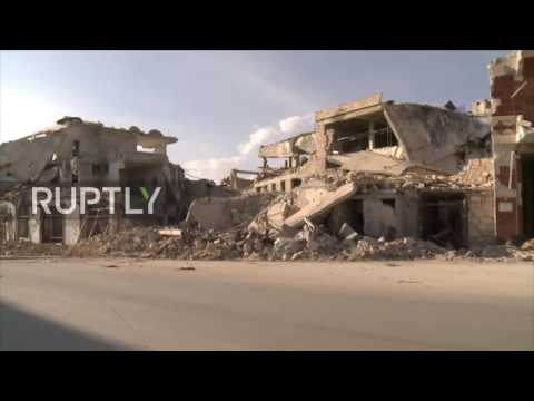 Syria: Residents of Aleppo prepare for winter amid debris of their homes