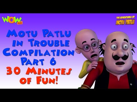 Motu Patlu in Trouble - Compilation Part 6...
