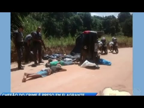 Polícia prende dois integrantes de facção criminosa