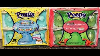 From Canada Part Iii: Peeps Party Cake And Sour Watermelon