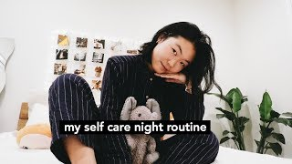 My Cozy Self Care Night Routine 🌧🌚⚡️