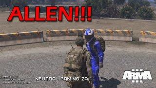 ALLEN!!! (Part 1) - Arma III Altis Life - Neutral Gaming ZA