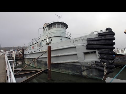 US Navy Tugboat Converted Into Home