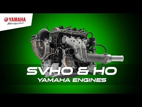 1.8 litre SVHO & HO Yamaha WaveRunner Engines