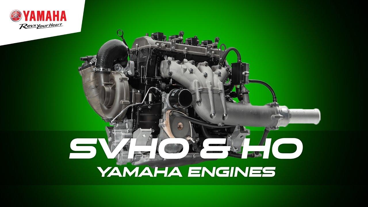 Yamaha Waverunner  Engine