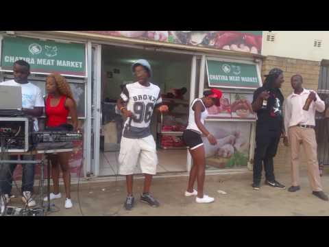 """Boris """"Dancing"""" @ Chatira Butcher & Bottle Store Gazaland, Highfield , Harare, Zimbabwe 2016"""