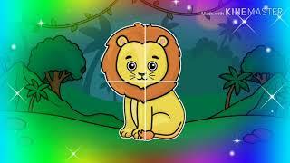 Цвета фигуры животные для детей развивающие мультфильмы