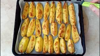 СЕКРЕТ приготовления Картошки запеченной в духовке + бонусом вкусный соус