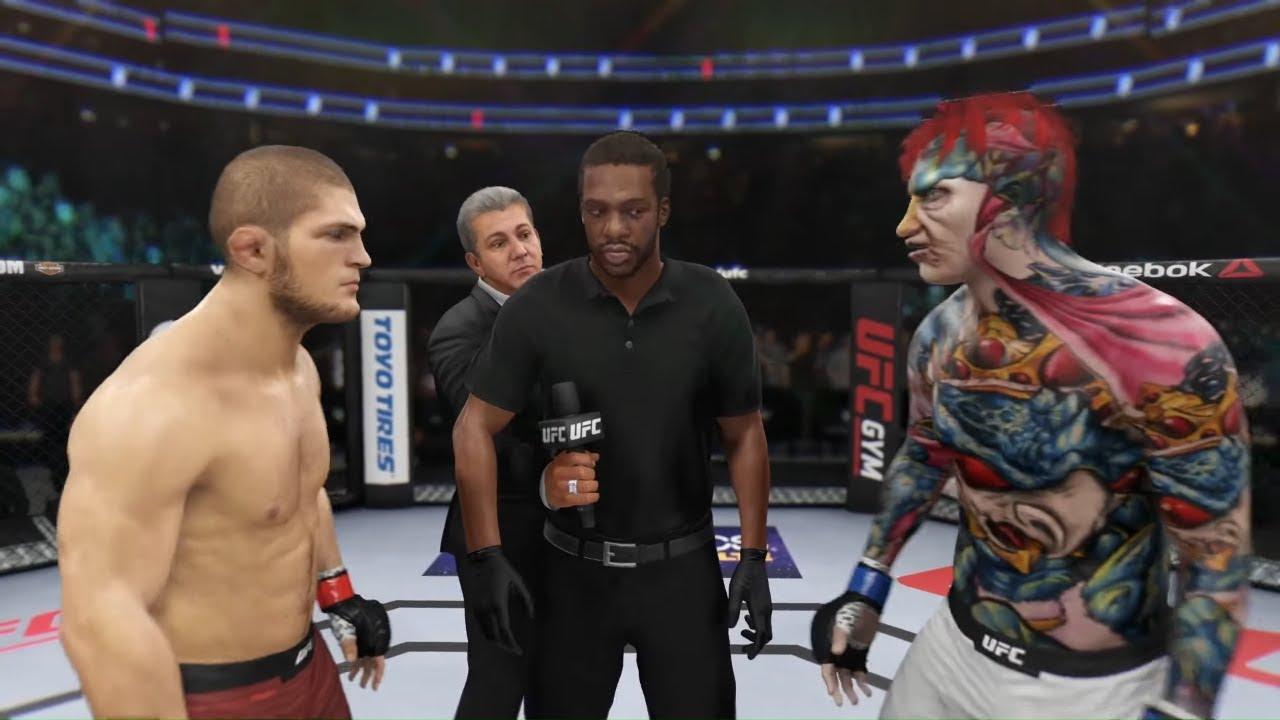 Khabib vs. Electro Cock - EA Sports UFC 3