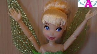 Кукла Фея Динь-динь (Дзынька) распаковка, обзор Doll Fairy Tinker Bell (Dinka) unboxing, review