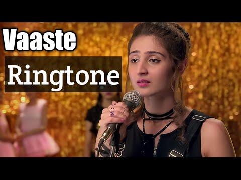 Vaaste Song Ringtone | Dhvani Bhanushali vaste song