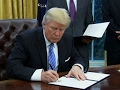 Trump signs 3 executive orders: Stops US funding for foregin abortions
