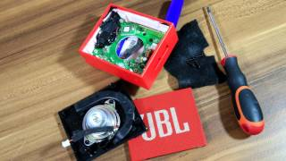 Look inside JBL GO Portable bluetooth Speaker & dB SPL test at 1m