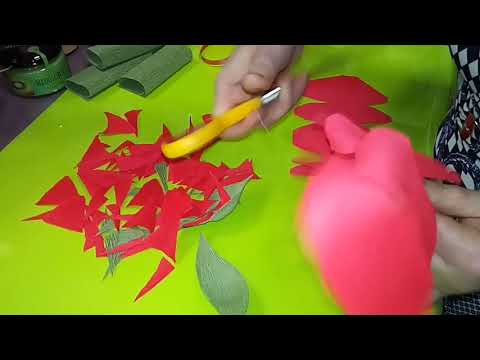 видео: Мастер-класс по упаковке подарка + изготовление розы из гофре