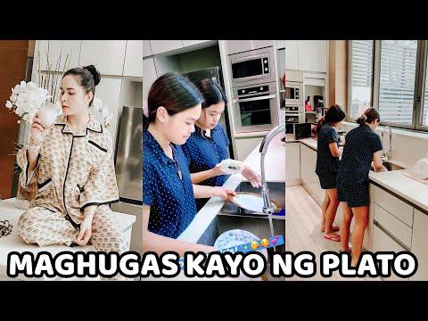 Jinkee PINAGHUGAS Ng PLATO Sina Princess At Queenie!!