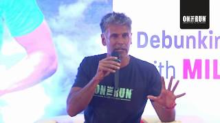 If you run, you can eat anything? Food Myths Debunked with Milind Soman