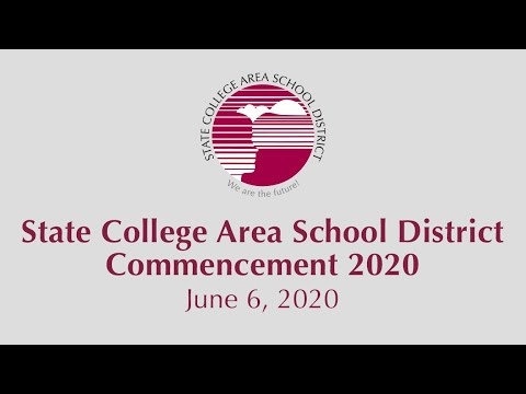 State College Area High School Commencement 2020