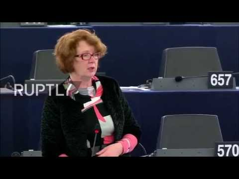 LIVE: EP to act against alleged Russian propaganda media in Europe - english