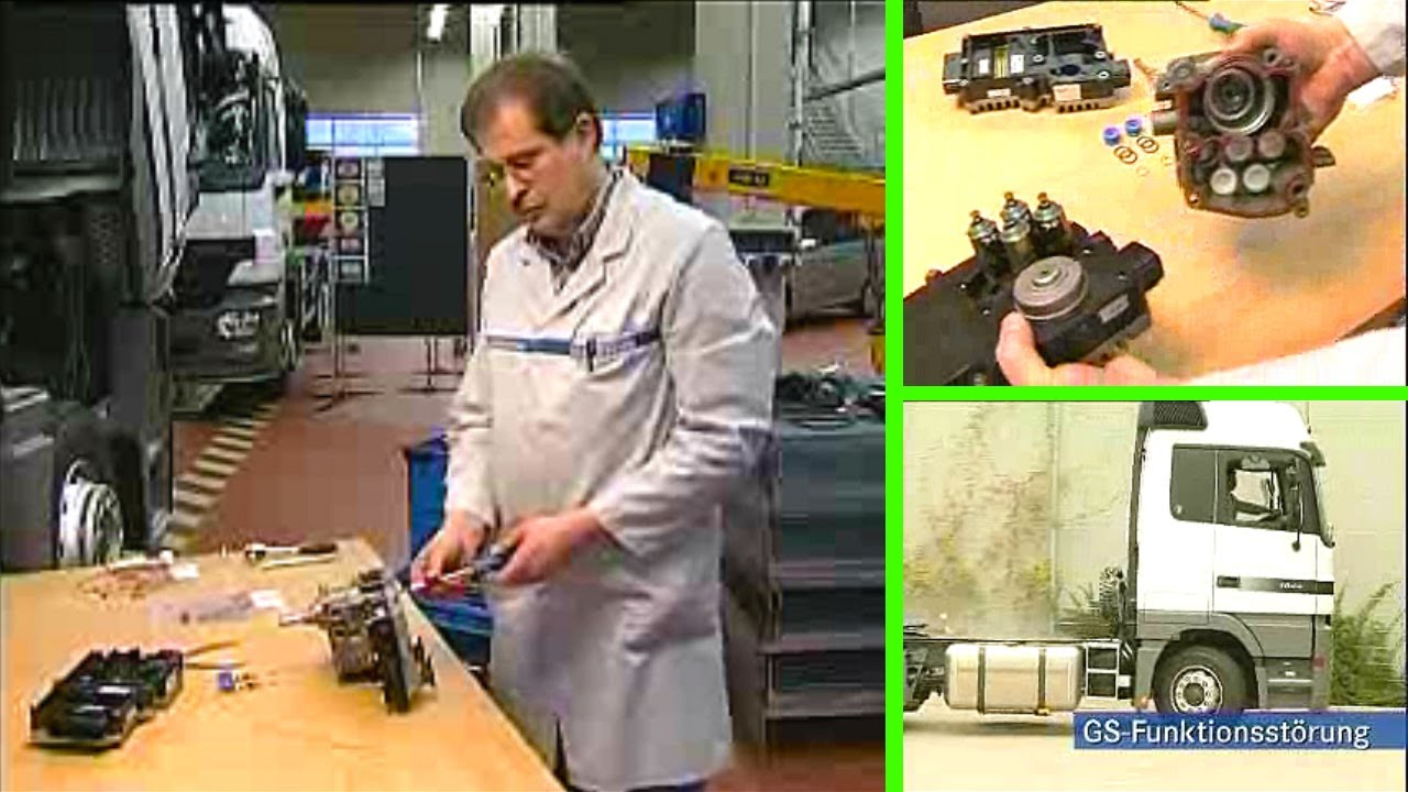 Mercedes benz getriebe steuerger t gs funktion youtube for Mercedes benz gs