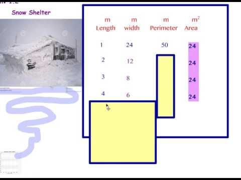 Covering & Surrounding Inv 1 (perimeter & area) 6 min