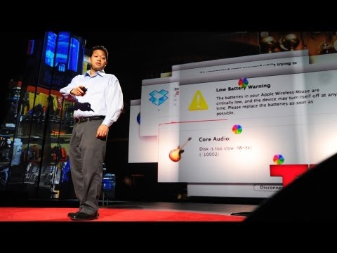 A TED speaker's worst nightmare | Colin Robertson