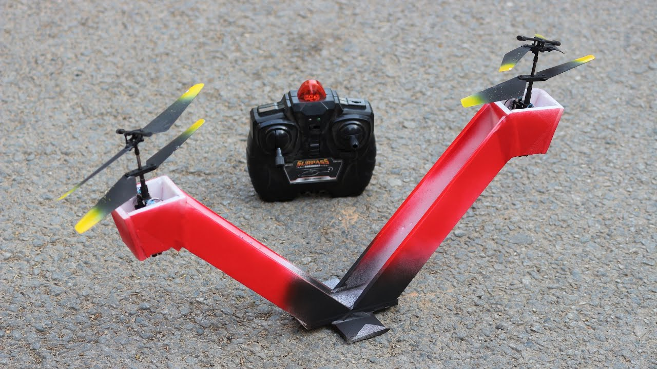 How To Make a Helicopter - RC Toy Helicopter