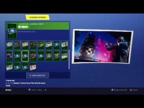 Blockbuster Loading Screen #8 - Fortnite