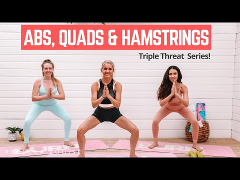 Flat ABS + toned HAMSTRINGS (targeted workout)