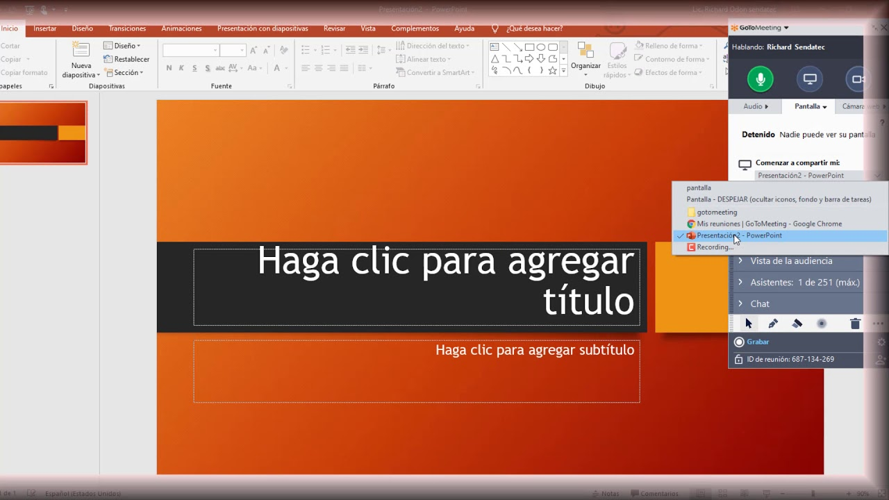 Tutorial Gotomeeting # 2 Vídeo conferencias online