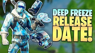 Fortnite Deep Freeze Bundle Date de sortie - Plus d'infos