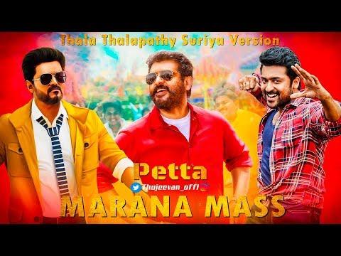 Marana Mass Song Thala Thalapathy Suriya Version  - Thujeevan HD