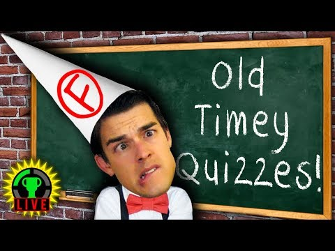 GTLive: FAILING at Quizzes from the 1800's - MatPat tests old oldschool school tests.