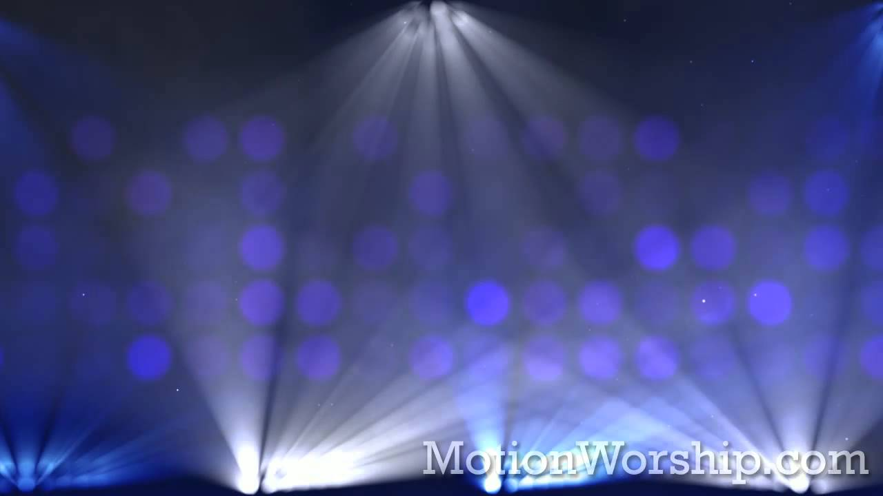 Stage Lights Color Change Flashing HD Looping Background By Motion Worship