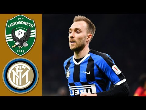 ERIKSEN MIGLIORE IN CAMPO! LUDOGORETS 0 INTER 2 EUROPA LEAGUE