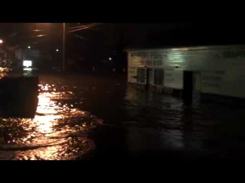 Keyport Fishery Flooded Out