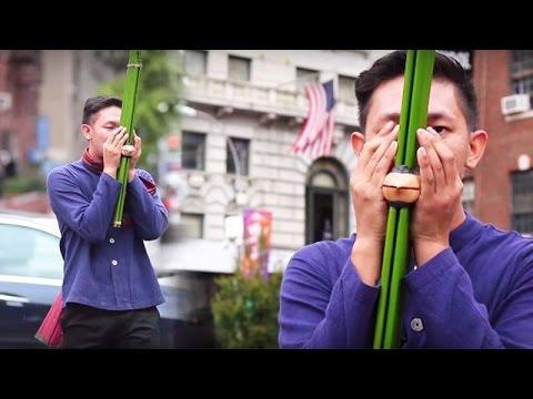 Folk Dance in New York.(อ้นแคนเขียว) [Official MV]