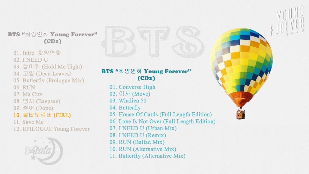[Full] BTS - 화양연화 Young Forever (CD1+CD2)    Best Song Of BTS Pt.3